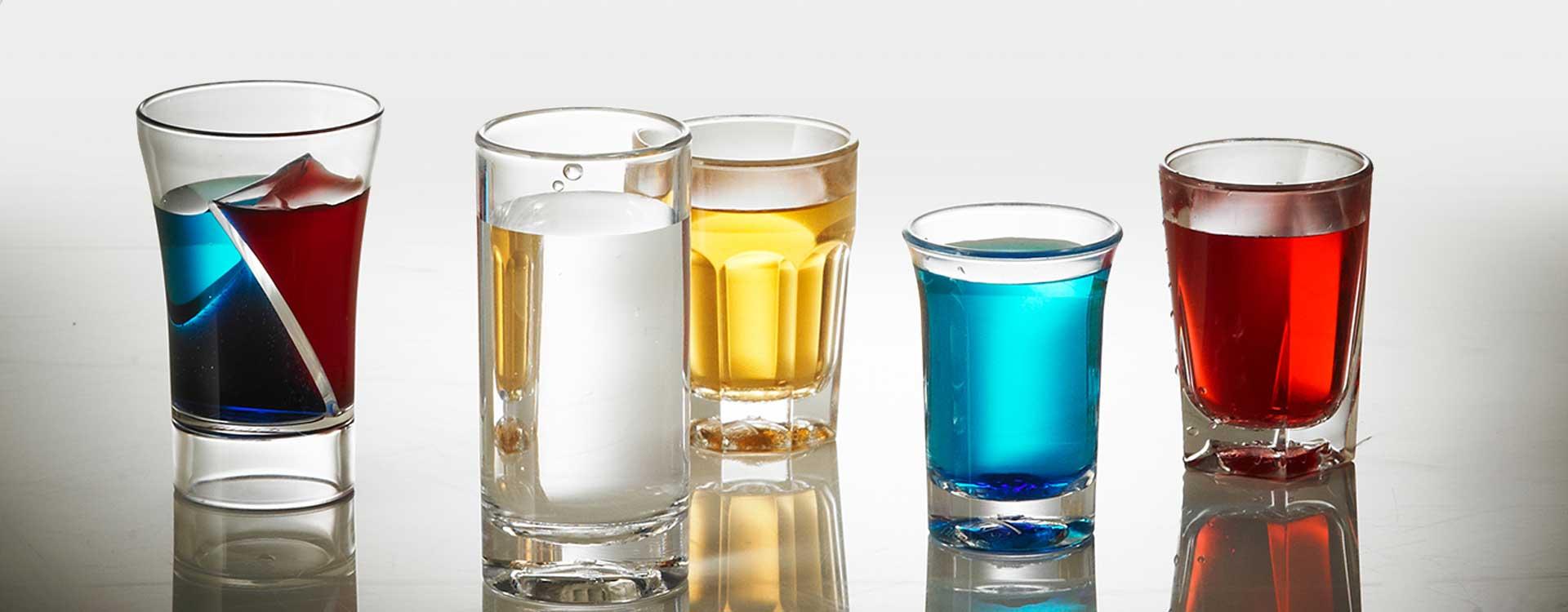 Plastic shot drinking glassware in Hampshire