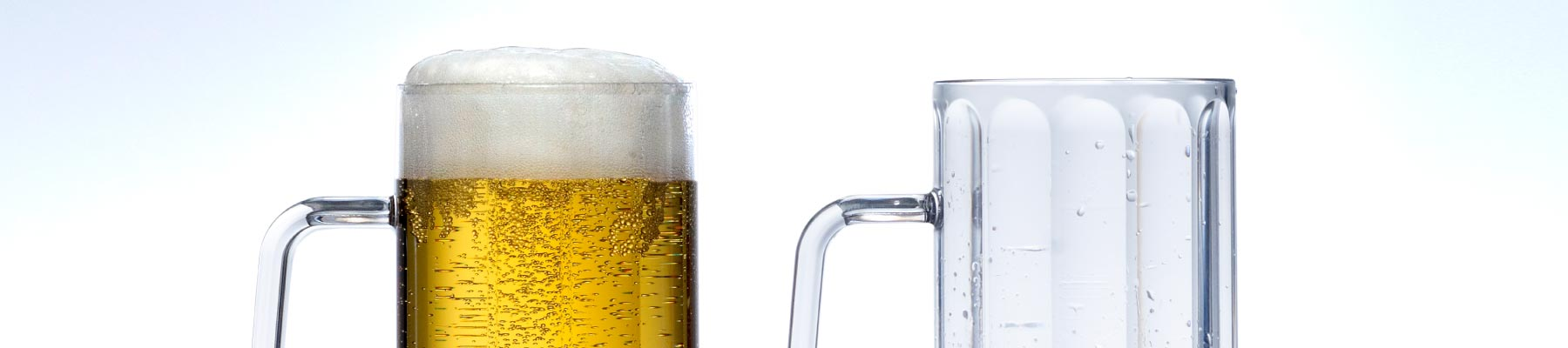 plastic reusable barware beer jugs for catering in hampshire