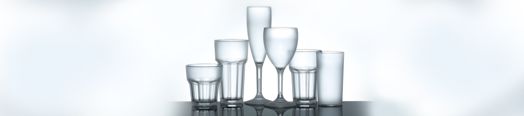 Plastic alternative to glassware in Hampshire