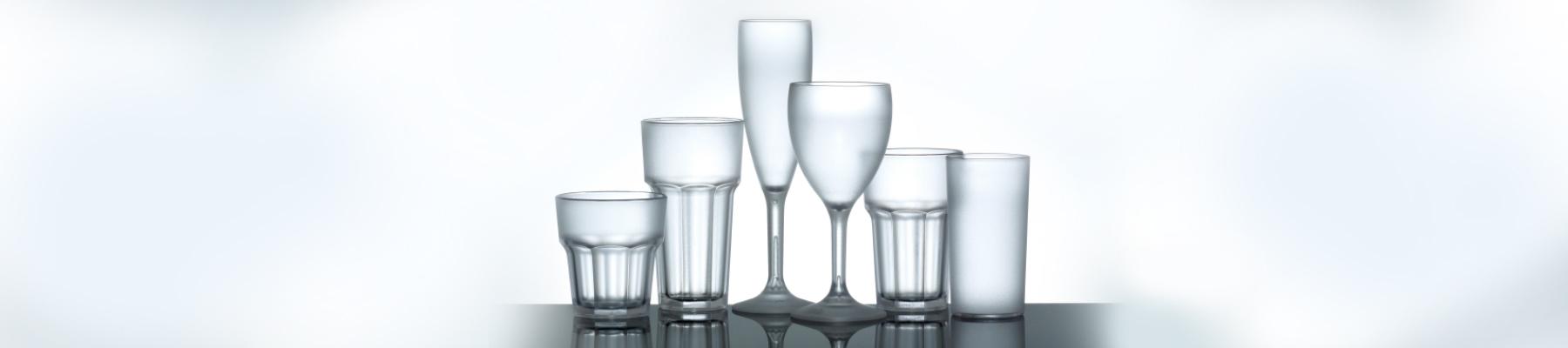 Plastic alternative to glassware in Hampshire