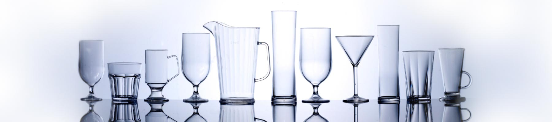 Large plastic glassware suppliers in Hampshire