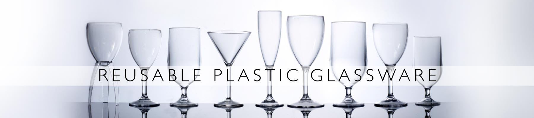 Plastic drinking glass alternative in Hampshire