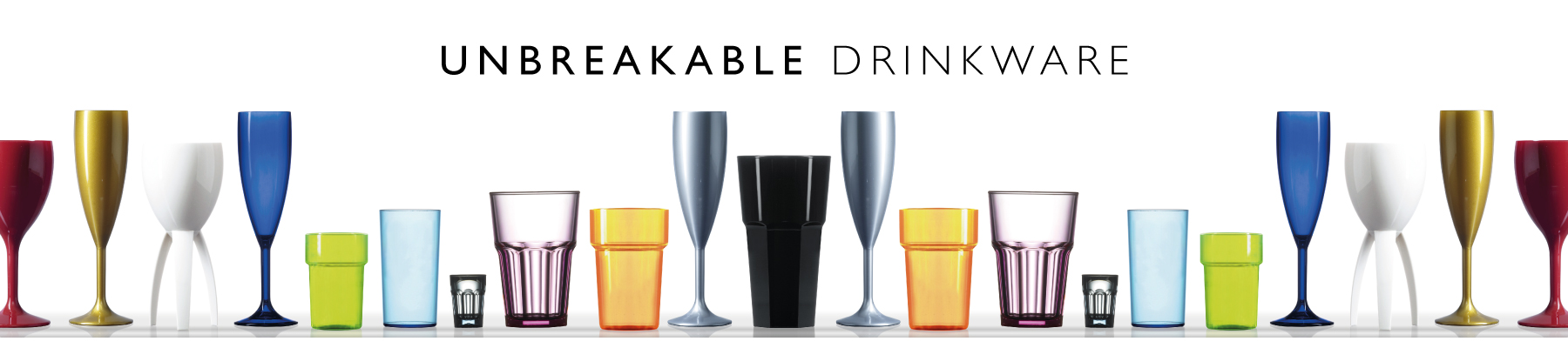 unbreakable glassware in all styles Hampshire Chandlers Ford