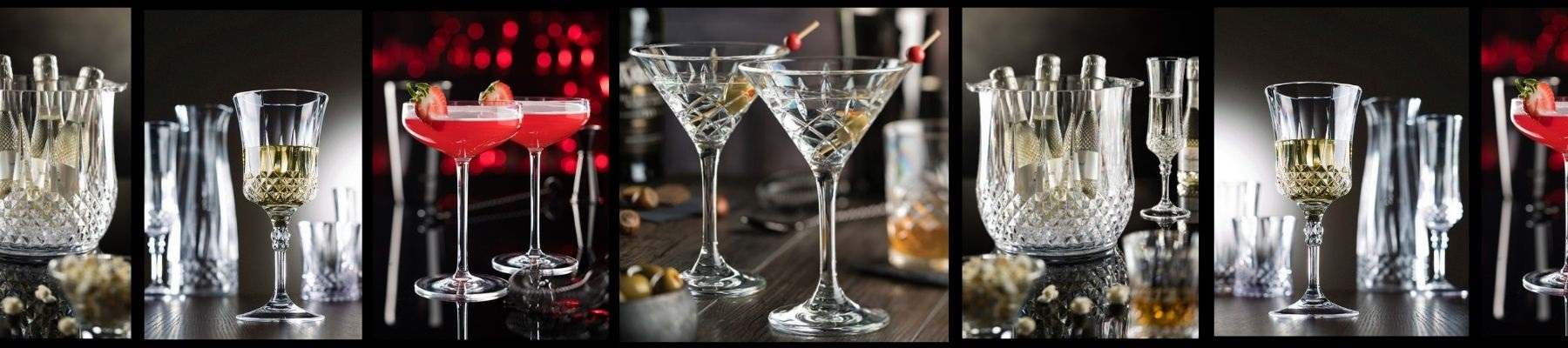 Utopia Plastic Martini Glasses and cocktail glasses from Glassjacks